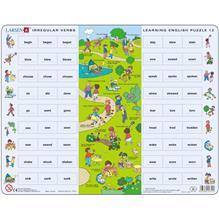 Puzzle Invatam Limba Engleza Nr12 54 Piese Larsen Lren12-Gb