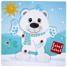 Poza Puzzle Label-Label Urs Polar