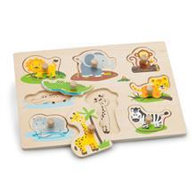 Puzzle Lemn Safari