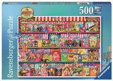 Puzzle Magazinul De Dulciuri 500 Piese