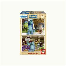 Puzzle Monsters University 2X25 Piese
