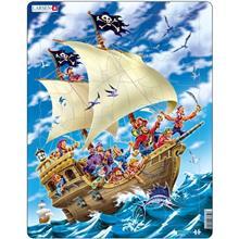 Puzzle Pirati 30 Piese Larsen
