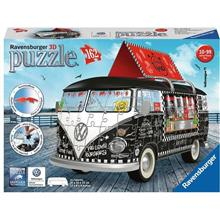 Puzzle Ravensburger 3D Wv T1 Bus Food Truck 162 Pcs