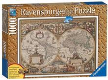 Puzzle Ravensburger Antique World Map 1000 Pcs