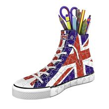 Puzzle Ravensburger Sneaker British Flag 108 Piece 3D