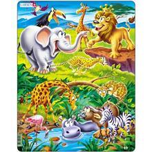 Puzzle Safari 18 Piese Larsen