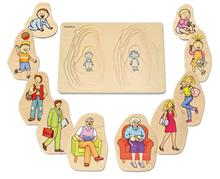 Puzzle Stratificat Bunica Si Bunicul Beleduc