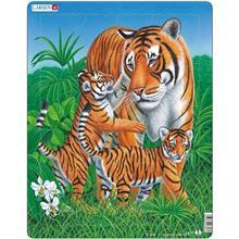 Puzzle Tigru 23 Piese Larsen