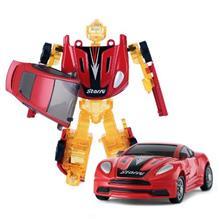 Robotel Transformabil Starry 2 In 1 Rosu