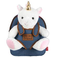 Rucsacel Denim Unicorn Detasabil - Tiara Unicorn Perletti