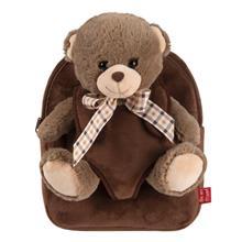 Rucsacel Plus Soft Cu Ursulet Detasabil - Tommy Bear Perletti