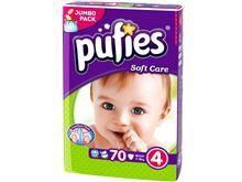 Scutece Copii Pufies Nr 4 Maxi 7-18 Kg 70 Bucati