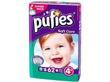 Scutece Copii Pufies Nr 4 Maxi Plus 9-20 Kg 62 Bucati