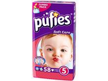 Scutece Copii Pufies Nr 5 Junior 11-25 Kg 58 Buc