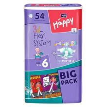 Scutece Happy 6 Junior Extra (16 Plus Kg) 54 Buc