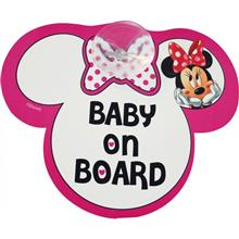 Semn De Avertizare Baby On Board Minnie