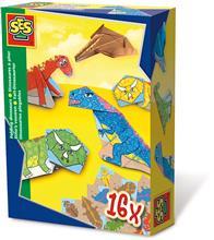 Ses Hobby Baieti - Dinozauri Din Hartie (16 Buc)