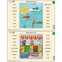 Set 10 Puzzle-Uri Read And Look 1 -10 (En) 16 Piese Larsen