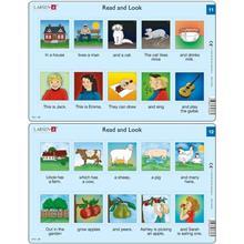 Set 10 Puzzle-Uri Read And Look 11 -20 (En) 10 Piese Larsen