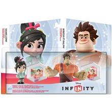 Set 2 Figurine Disney Infinity Wreck-It Ralph And Vanellope