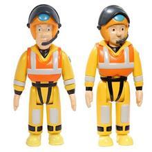 Set 2 Figurine Fireman Sam And Penny