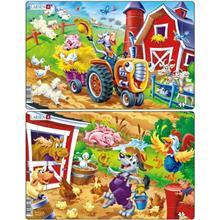 Set 2 Puzzle-Uri Ferma 16 Piese Larsen