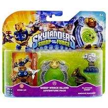 Set 3 Figurine Skylanders Swap Force Adventure Pack Sheep Wreck Island