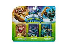 Set 3 Figurine Skylanders Swap Force Big Bang Trigger Happy Star Strike Anchors Away Gill Grunt