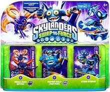 Set 3 Figurine Skylanders Swap Force Mega Ram Spyro Super Gulp Pop Fizz And Star Strike