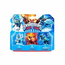 Set 3 Figurine Skylanders Trap Team Blades Tidal Wave Gill Grunt Torch