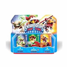 Set 3 Figurine Skylanders Trap Team Funny Bone Shure Shot Shroomboom Chopper