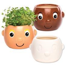 Imagine indisponibila pentru Set 6 Ghivece Din Ceramica Head