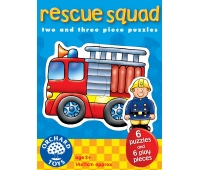 Set 6 Puzzle - Echipa De Salvare (2 &Amp; 3 Piese) - Orchard Toys (204)