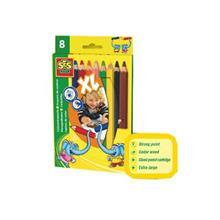 Set 8 Creioane Xl Colorate