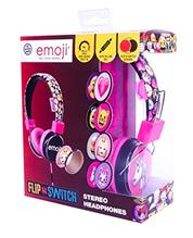 Set Casti Audio Personalizabile Emoji Flip And Switch Roz