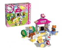 Set Constructie Unico Plus Hello Kitty Ferma