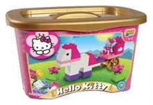 Set Constructie Unico Plus Hello Kitty Galetusa 44 Piese