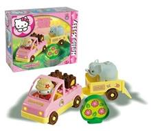 Set Constructie Unico Plus Hello Kitty Mini Safari