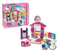 Set Constructie Unico Plus Hello Kitty Minimarket
