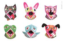 Set Creativ Janod - Papusi De Mana Origami - Animalute