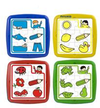 Set De 4 Puzzle Educative Miniland
