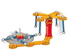 Set De Construit Geomag Mechanics 86Pcs