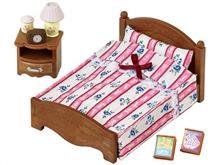Set De Jucarii Sylvanian Families Semi Double Bed