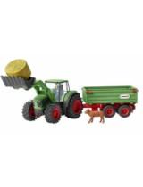 Set Figurine Schleich - Tractor Cu Remorca - Sl42379