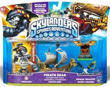 Set Figurine Skylanders Spyro's Adventure Pirate Seas Adventure Pack