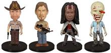 Set Figurine The Walking Dead Mini Wacky Wobbler