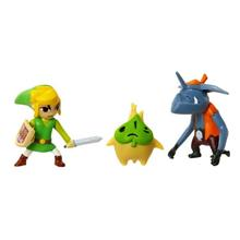 Set Figurine World Of Nintendo The Legend Of Zelda Windwaker Hd Link Makar Si Bokoblin