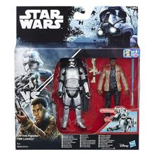 Set Hasbro Star Wars Rogue One Imperial Death Trooper + Rebel Commando Pao Set Of 2 Figures Deluxe (10 Cm)