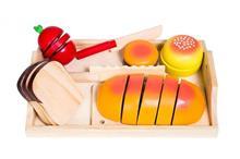 Set Jucarii Glow2b Germany Wooden Bread Tray 19 Pieces