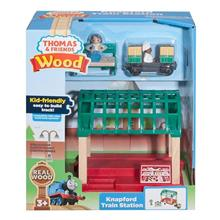 Set Jucarii Thomas And Friends Wood Knapford Train Station